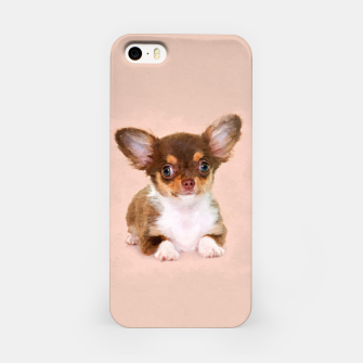 Thumbnail image of Chihuahua Puppy iPhone Case, Live Heroes