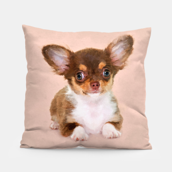 Thumbnail image of Chihuahua Puppy Pillow, Live Heroes