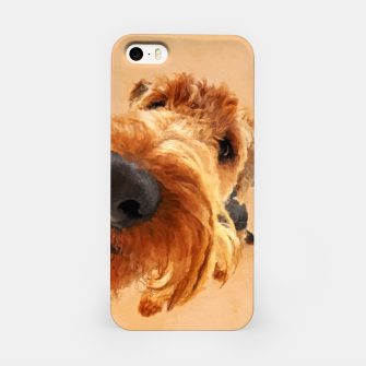 Thumbnail image of Funny  Airedale Terrier iPhone Case, Live Heroes