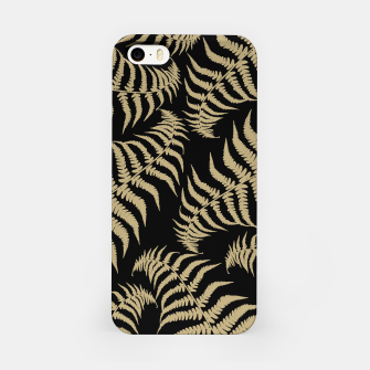 Thumbnail image of Fern Leaves Pattern - Golden Dream #1 #ornamental #decor #art iPhone-Hülle, Live Heroes
