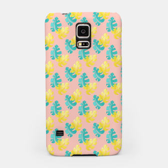 Miniaturka Monstera leaves Samsung Case, Live Heroes