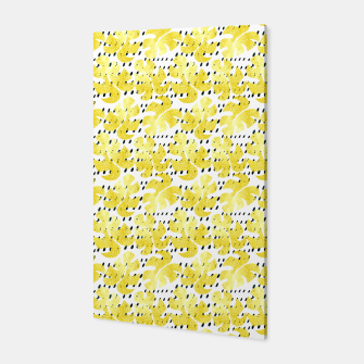 Thumbnail image of Monstera Deliciosa lemonade Canvas, Live Heroes