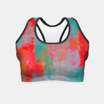 Thumbnail image of Anstract nr 07/18 Crop Top, Live Heroes