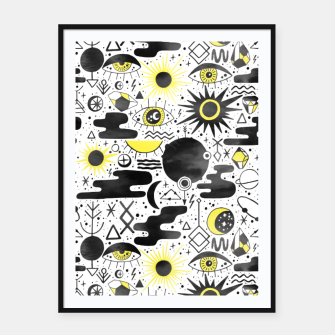 Thumbnail image of Solar Eclipse Framed poster, Live Heroes