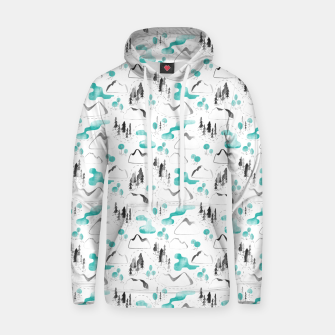 Outdoor Map  Cotton hoodie thumbnail image
