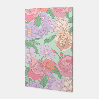 Thumbnail image of Summer Garden Floral Print Canvas, Live Heroes