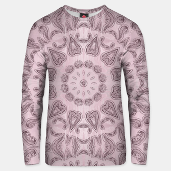 Thumbnail image of Pastel violet  Kaleidoscope Mandala  Cotton sweater, Live Heroes