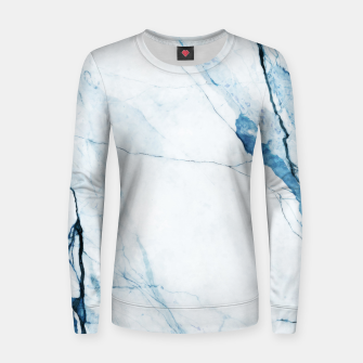 Thumbnail image of Moroccan Blues Woman cotton sweater, Live Heroes