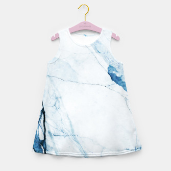Thumbnail image of Moroccan Blues Girl's summer dress, Live Heroes