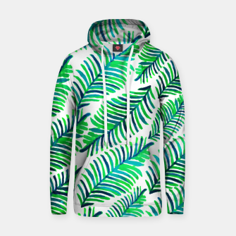 Thumbnail image of Palm Solace  Cotton hoodie, Live Heroes