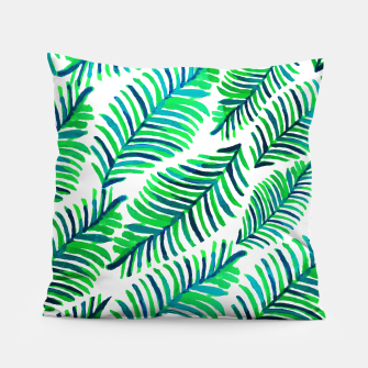 Thumbnail image of Palm Solace  Pillow, Live Heroes