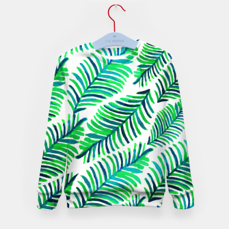 Thumbnail image of Palm Solace  Kid's sweater, Live Heroes