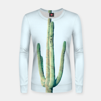 Thumbnail image of Loner Cactus Woman cotton sweater, Live Heroes
