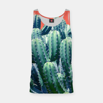Thumbnail image of Cactus on Coral Tank Top, Live Heroes