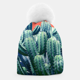 Thumbnail image of Cactus on Coral Beanie, Live Heroes