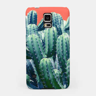 Thumbnail image of Cactus on Coral Samsung Case, Live Heroes