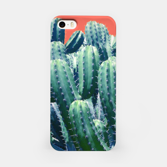 Thumbnail image of Cactus on Coral iPhone Case, Live Heroes