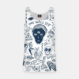 Alien Tatto Tank Top obraz miniatury