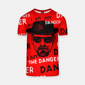 Thumbnail image of I am the danger Heisenberg Koszulka, Live Heroes