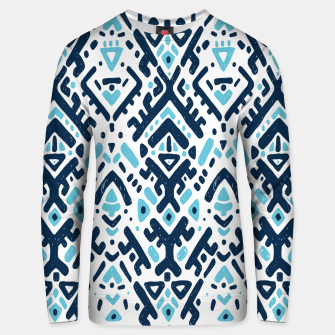 Thumbnail image of Aztec ornament Cotton sweater, Live Heroes