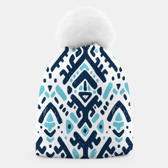 Thumbnail image of Aztec ornament Beanie, Live Heroes