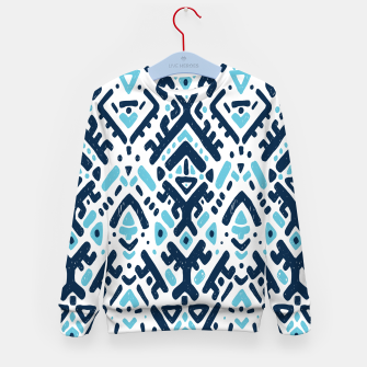 Thumbnail image of Aztec ornament Kid's sweater, Live Heroes