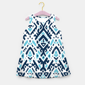 Thumbnail image of Aztec ornament Girl's summer dress, Live Heroes