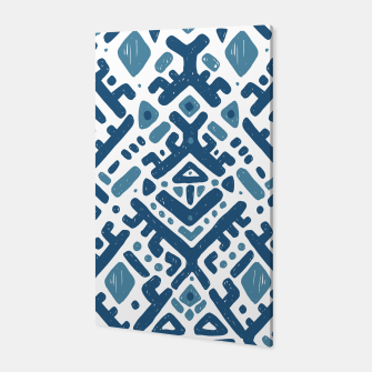 Thumbnail image of Ikat ornament. Tribal pattern Canvas, Live Heroes