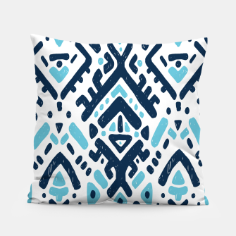 Thumbnail image of Aztec ornament Pillow, Live Heroes