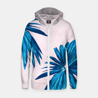 Thumbnail image of Tropicana Cotton zip up hoodie, Live Heroes