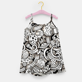 Miniaturka Space Doodle Girl's dress, Live Heroes