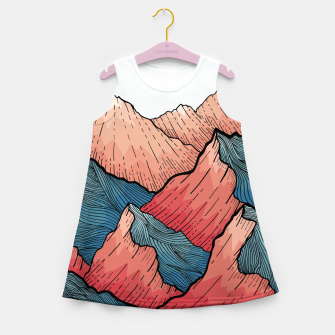 Miniaturka Sea Peaks Girl's summer dress, Live Heroes