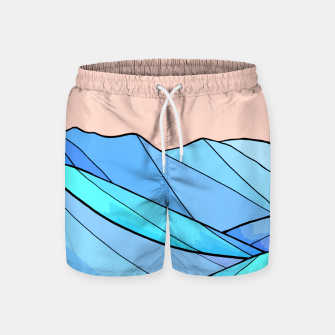 Miniaturka The choppy water Swim Shorts, Live Heroes