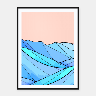The choppy water Framed poster miniature