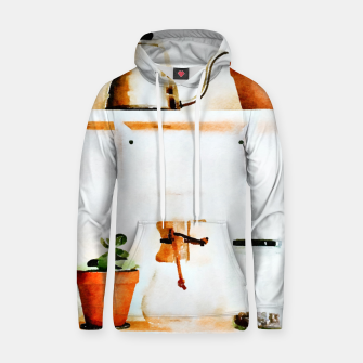 Thumbnail image of Plant Wall V2 Cotton hoodie, Live Heroes