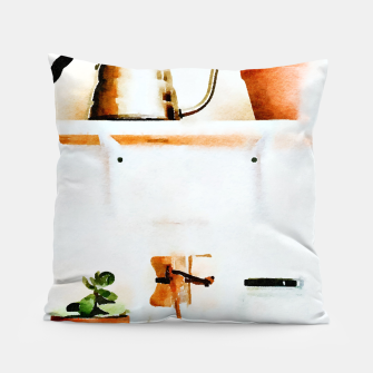 Thumbnail image of Plant Wall V2 Pillow, Live Heroes