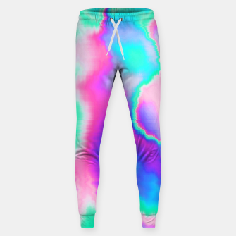 Thumbnail image of Holographic Glitch Cotton sweatpants, Live Heroes