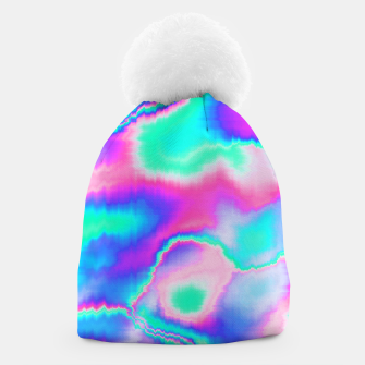 Thumbnail image of Holographic Glitch Beanie, Live Heroes