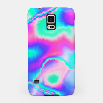 Thumbnail image of Holographic Glitch Samsung Case, Live Heroes