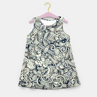 Miniaturka Space ace Girl's summer dress, Live Heroes
