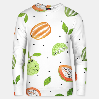 Thumbnail image of Papaya & Custard Apple Cotton sweater, Live Heroes