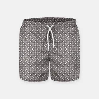 Thumbnail image of Old Metal Steel plate texture Swim Shorts, Live Heroes
