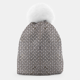Thumbnail image of Old Metal Steel plate texture Beanie, Live Heroes