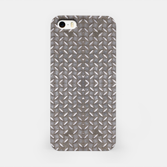 Thumbnail image of Old Metal Steel plate texture iPhone Case, Live Heroes