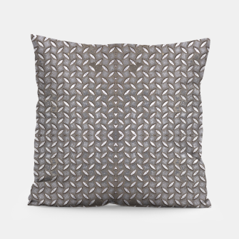 Thumbnail image of Old Metal Steel plate texture Pillow, Live Heroes