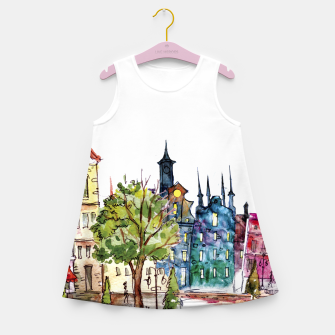 Miniaturka City Pride Girl's summer dress, Live Heroes