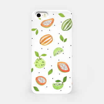 Thumbnail image of Papaya & Custard Apple iPhone Case, Live Heroes