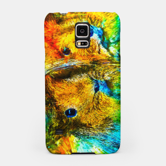 Miniaturka gxp guinea pig couple splatter watercolor Samsung Case, Live Heroes