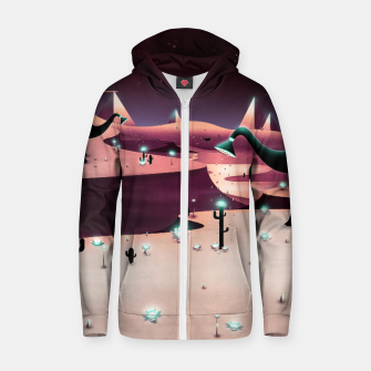 Miniatur Watering the Desert Cotton zip up hoodie, Live Heroes
