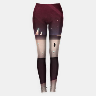 Miniatur Watering the Desert Leggings, Live Heroes